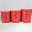 Box na kvety set (3ks) kruh / 400400-1