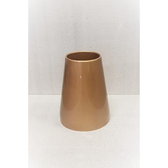 4213 Váza Ovál Zaťažená - Gold