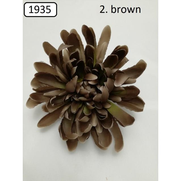 1935 Chryzantéma hlava, 17cm / W935