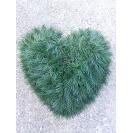 092. Srdce malé drôt, 40cmx42cm