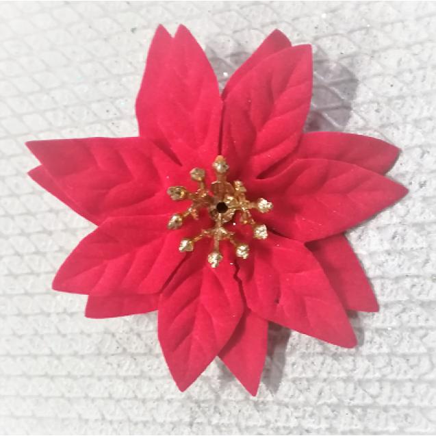 2047 Vianočná ruža mini 7cm