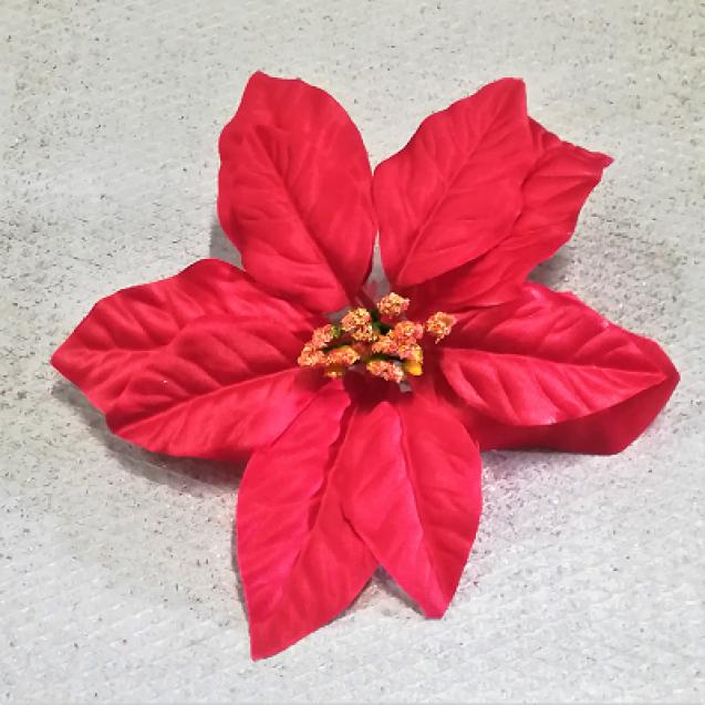 263001 Vianočný kvet Red 18cm