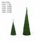 205. Vianočný strom-ihlan smrek 190 cm