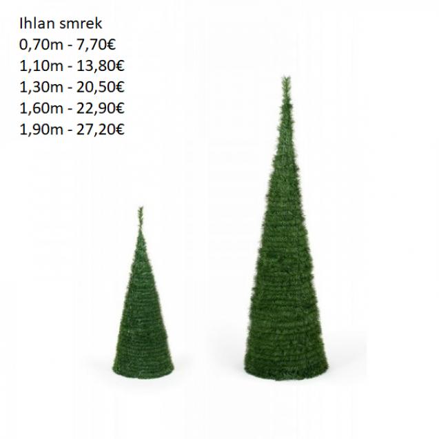 204. Vianočny strom-ihlan smrek 160 cm