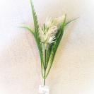 126606 Plastový dekor White 36cm